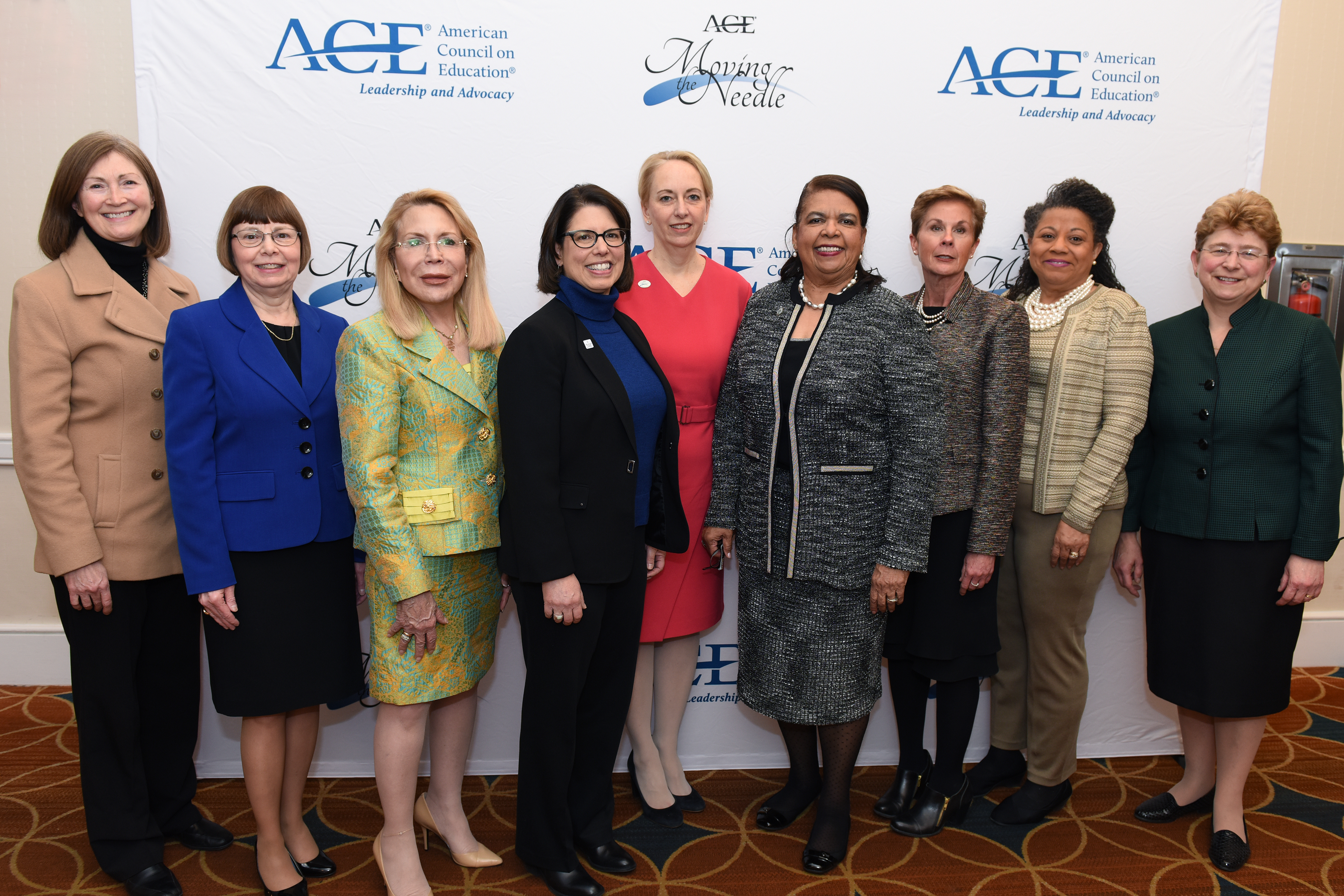 The Women's Network Executive Council in 2018