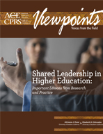 Shared Leadership in Higher Education: