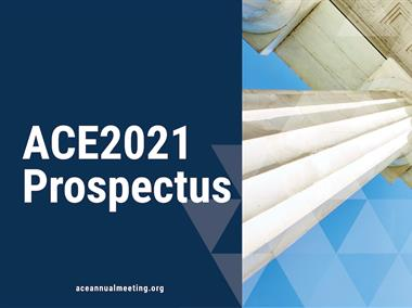 Cover image of ACE2021 Prospectus