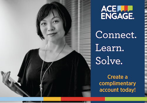 ACE Engage house ad