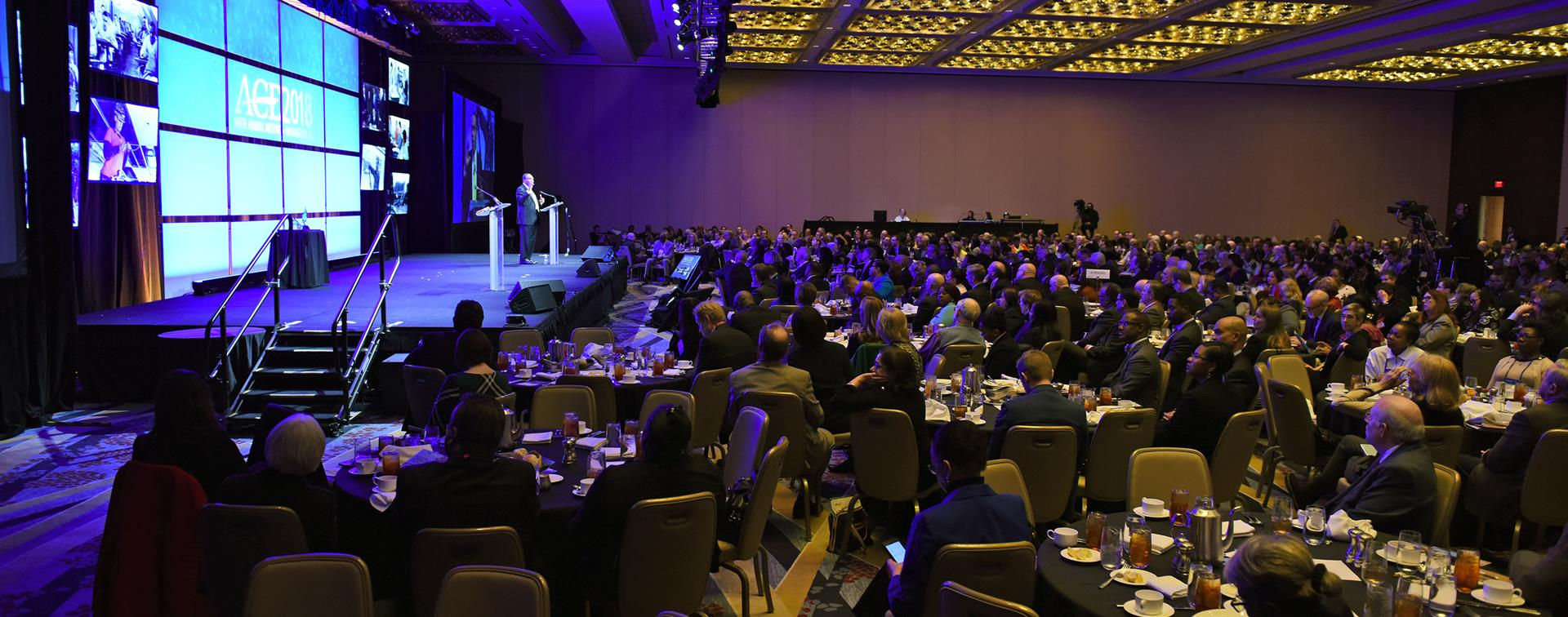 A picture of the crowd at ACE's Annual Meeting