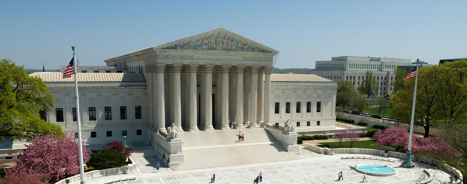 A picture of the US Supreme Court