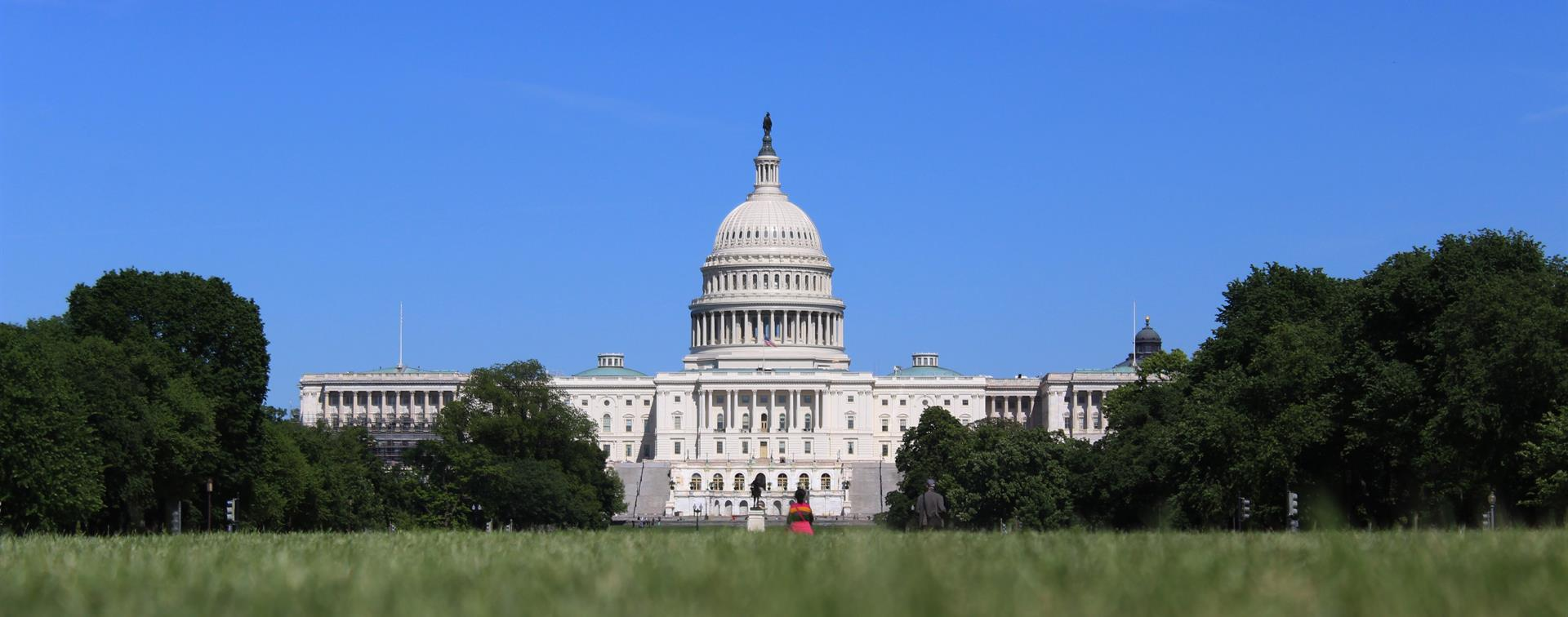 A picture of the United States Capitol Building in Washington, DC