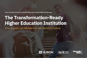 The Transformation-Ready Higher Education Institution cover image