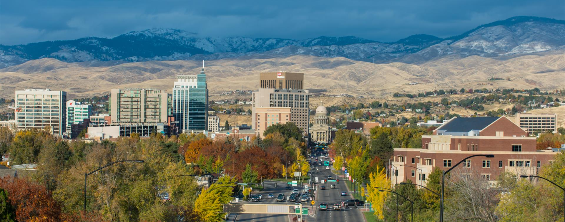 Boise City skyline