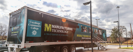 Cuyahoga Community College Brings Class on Wheels to Working Professionals