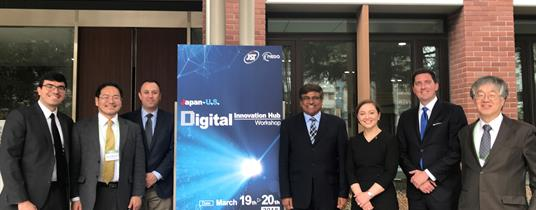 U.S.-Japan Research Collaboration in the Global Digital Era: The Japan-U.S. Digital Innovation Hub Workshop