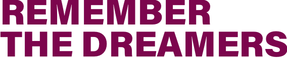 Remember the Dreamers website logo