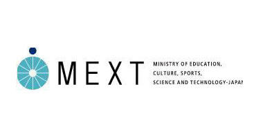 A picture of the MEXT logo